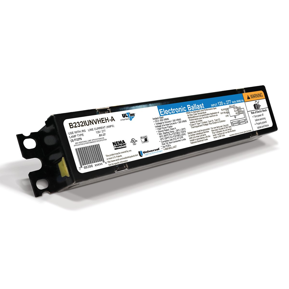 Linear Fluorescent Ballasts High Lumen T8 and T5 Ballasts